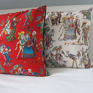 Mexican El Paseo Cushion Covers - bedroom