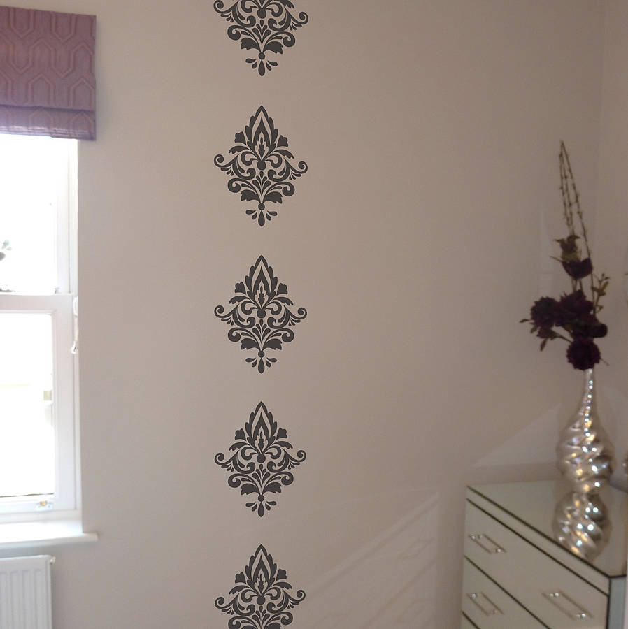 Damask Wall Stickers By Nutmeg Wall Stickers