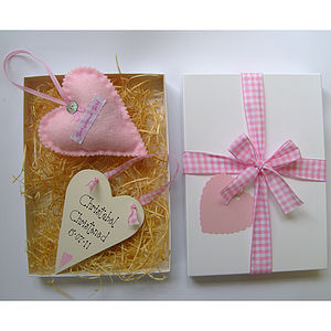 Personalised Christening Gift Box - keepsakes