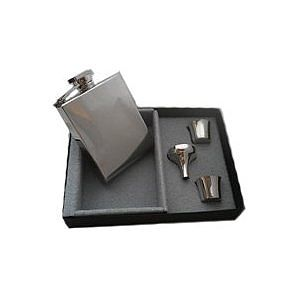Personalised Deco Hip Flask - wines, beers & spirits