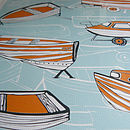 Boat Nostalgia Print Close-Up