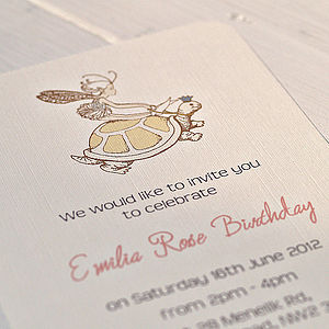 Personalised Birthday Party Invitations - parties