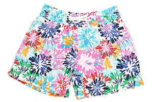 Men's Colour Burst Swim Shorts - men's fashion