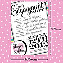 Engagement + Wedding 100cards For £120