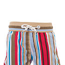 Boy's Beach Stripe Swim Shorts