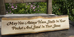 Shells In Your Pocket Sign - room decorations