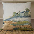 The Estuary Watercolour Cushion