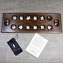 Wooden Mancala Board Game