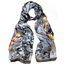 Atlantic Silk Scarf