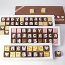 Personalised NEW BABY Chocolates