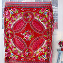 Thumb fruity flowers red family towel lifestyle