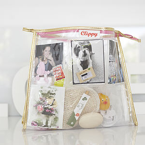 Style Your Own Photo Pocket Washbag - bags & purses