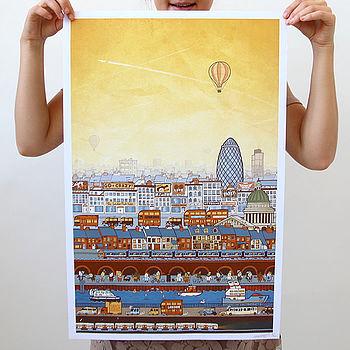 A View Of London Print