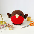Winter Bird Sewing Kit