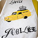 Lovely Jubbly Tea Towel