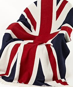 Bronte Union Jack Prestige Blanket - throws, blankets & fabric