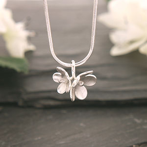 Cherry Blossom Flower Necklace