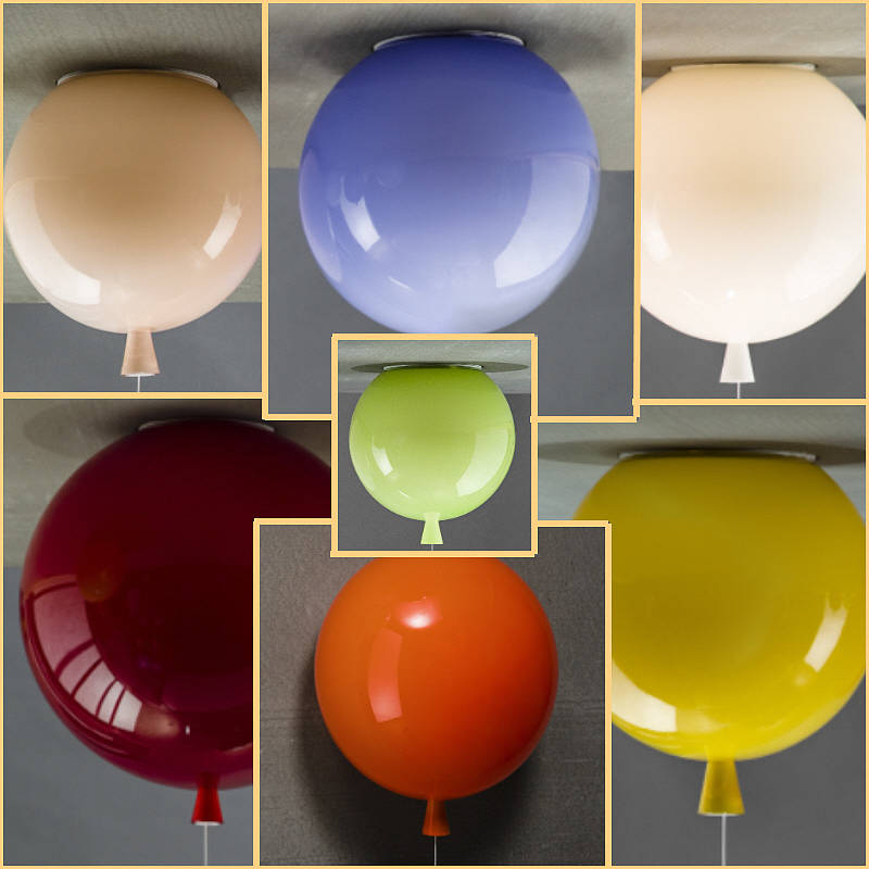Memory Balloon Ceiling Light By John Moncrieff