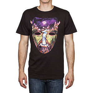 Men's Nature Mask T Shirt - t-shirts & vests
