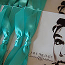 Breakfast At Tiffany's Wedding Invitation
