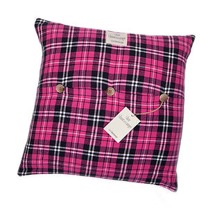 Monserrat Checked Cushion Cover