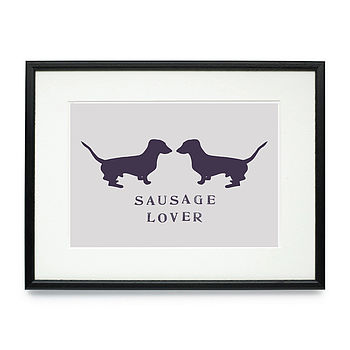 Sausage Lover Daxi Print