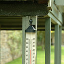 Large Tube Thermometer Slate