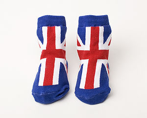 Baby Union Jack Socks - clothing