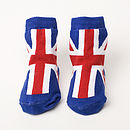 Baby Union Jack Socks
