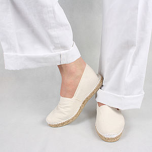 Handmade Spanish Espadrilles - shoes