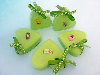 Handmade Heart Ring Soap