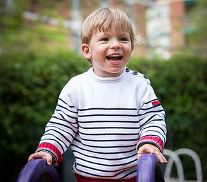 Boys Nautical Jumper - t-shirts & tops
