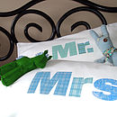 Personalised Mr And Mrs Premium Pillowcases