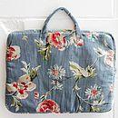 Velvet Floral Laptop case