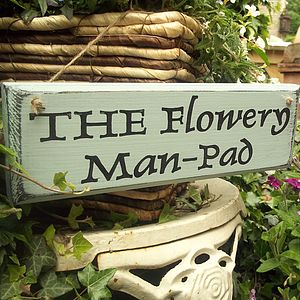 Wood Personalised Sign Vintage - gifts for him