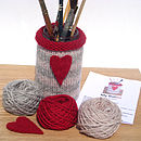 Jam Jar Cover Knitting Kit