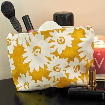 Oilcloth Make Up Bag
