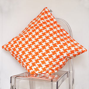 Houndstooth Cushion - cushions