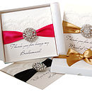 Opulence Personalised Wedding Thank You Card