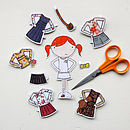Clara Paper Doll The Signature Outfits