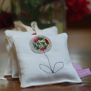 Handmade Decorative Lavender Bag - bedroom