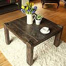 Ashburnham Sleeper Wood Square Coffee Table