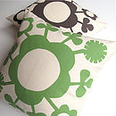 Lollipop Print Cushion Cover