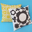 Lollipop Print Cushion Cover