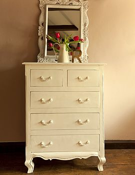 Amiens Distressed Chest Of Drawers