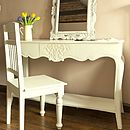 Amiens Distressed Dresser Table