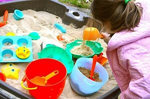 Sand Play Sets - outdoor living