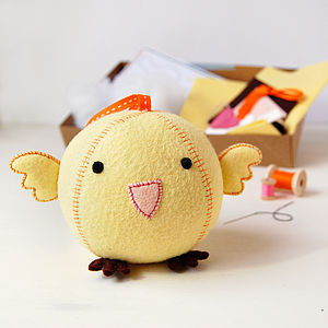 Make Your Own Chick Craft Kit - stationery & creative activities