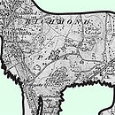 Spaniel Print detail Ordinance Survey Map
