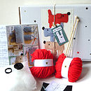 Scruff The Dog Learn To Knit Kit- notonthehighstreet